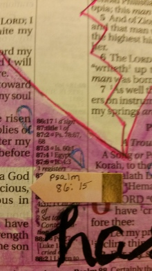 Psalm 8615(3)