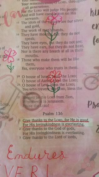 Psalm 1361(2)