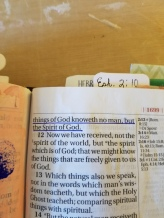 I Corinthians 211(3)