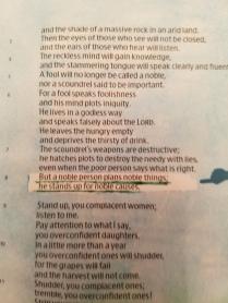 Isaiah 328(2)