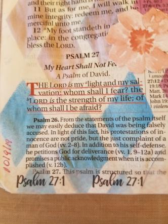 Psalm 271(2)