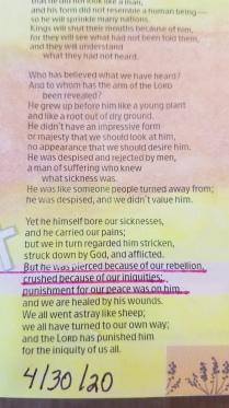 Isaiah 535(2)